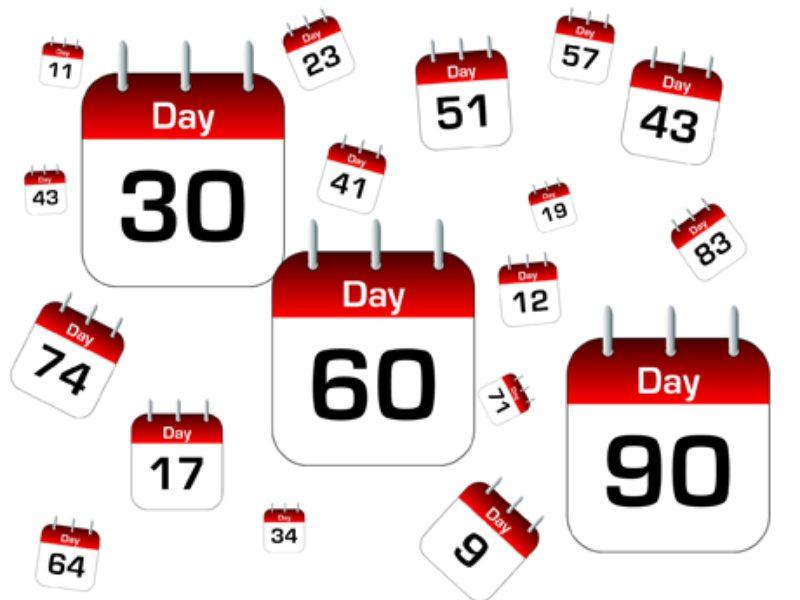 I primi 30 60 90 giorni