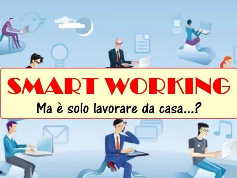 Smart Working Non E Lavorare Da Casa