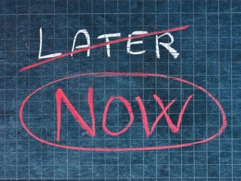 Non procrastinare
